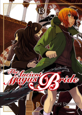 couverture manga The ancient magus bride  T13