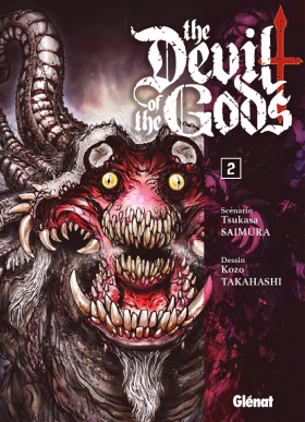 couverture manga The devil of the gods T2