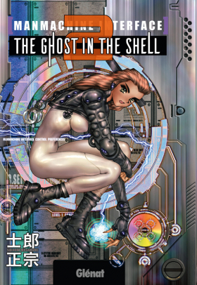 couverture manga The ghost in the shell T2