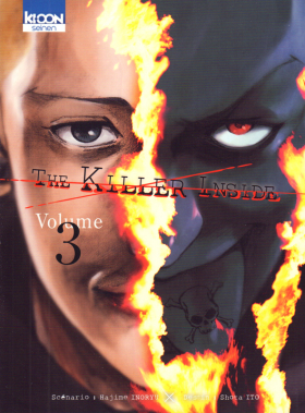 couverture manga The killer inside T3