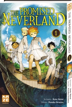 couverture manga The promised neverland T1