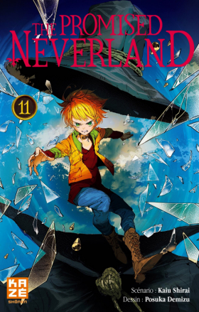 couverture manga The promised neverland T11