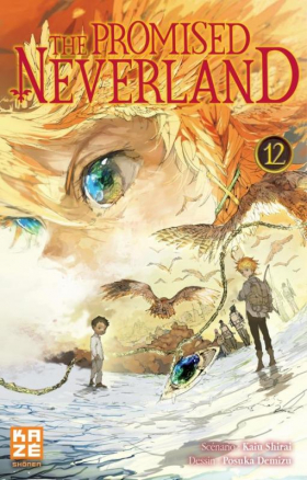 couverture manga The promised neverland T12
