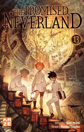 top 10 éditeur The promised neverland T13