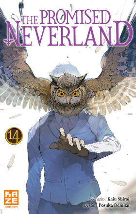couverture manga The promised neverland T14
