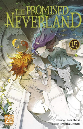 top 10 éditeur The promised neverland T15