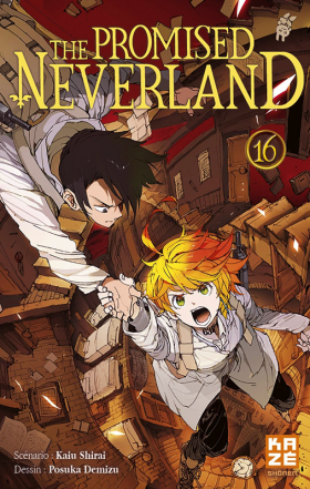 couverture manga The promised neverland T16