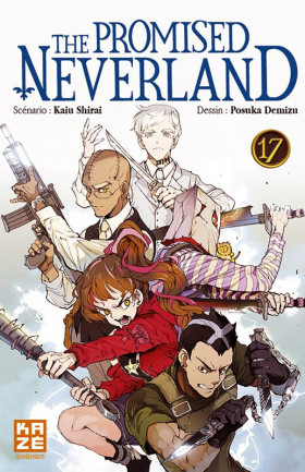 couverture manga The promised neverland T17
