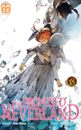 couverture manga The promised neverland T18