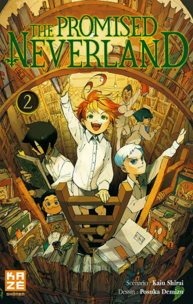 couverture manga The promised neverland T2