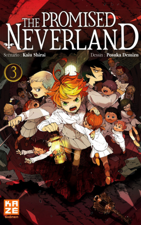couverture manga The promised neverland T3