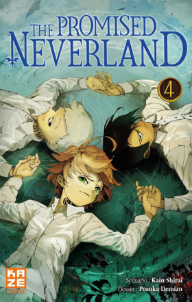 couverture manga The promised neverland T4