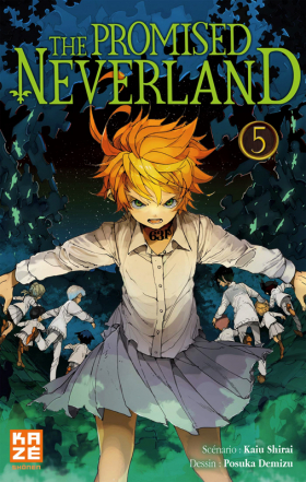 couverture manga The promised neverland T5