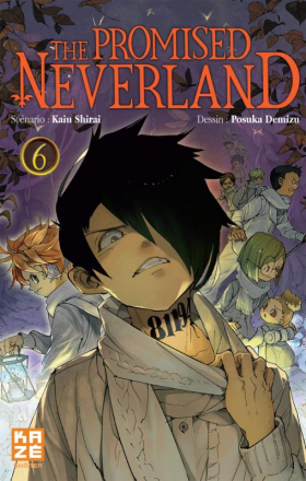 couverture manga The promised neverland T6