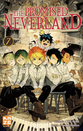 couverture manga The promised neverland T7