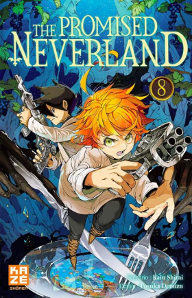 couverture manga The promised neverland T8