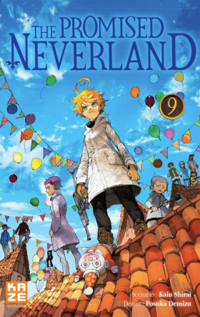 couverture manga The promised neverland T9