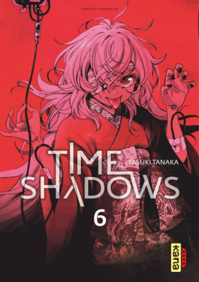 couverture manga Time shadows T6