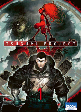 couverture manga Tsugumi project T1