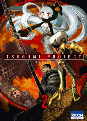 couverture manga Tsugumi project T2