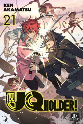 couverture manga UQ Holder! T21