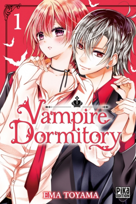 couverture manga Vampire dormitory T1