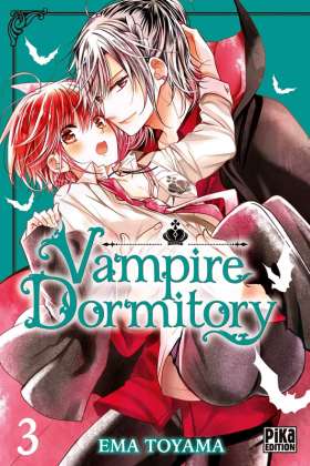 couverture manga Vampire dormitory T3