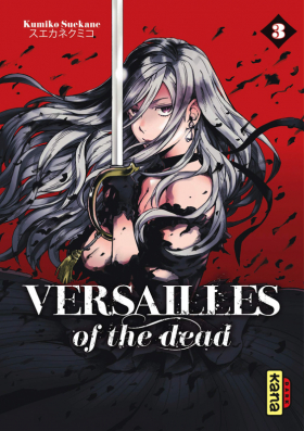 couverture manga Versailles of the dead T3