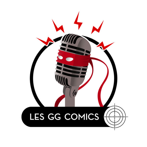 logo podcast Les GG Comics